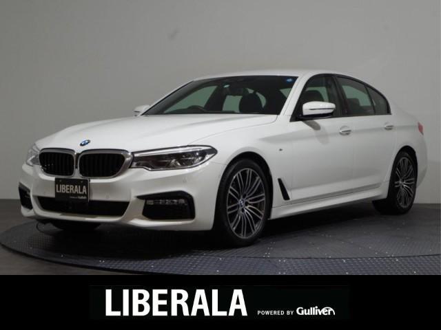 BMW 530i Mスポーツ 1オーナー/ハイラインPKG/黒革/360°カメラ/ACC/純正19インチAW/禁煙車ETC/純正ナビ&地デジ/パワーシート/シートヒーター/電動トランク/HUD/インテリジェントS/コーナーセンサー