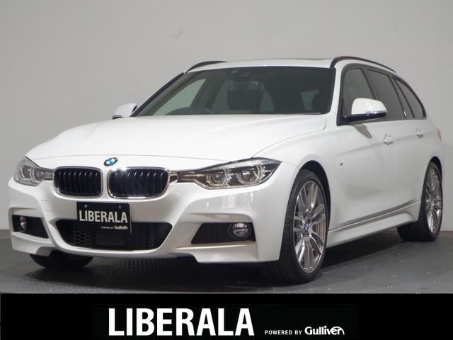 BMW 320iツーリング Mスポーツ 1オーナー/ドライビングA/ACC/HDDナビ/ツインガラスルーフ/ETC/禁煙車/電動リアゲート/リアビューカメラ/パワーシート/純正19インチAW/コンフォートアクセス/コーナーセンサー