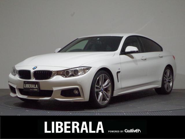 BMW 420iグランクーペ Mスポーツ 後期モデル/ワンオーナー/インテリジェントセーフティ/ACC/BSM/純正HDDナビ/パーキングアシスト/ETC/HIDライト/フォグ/リアフォグ/パワーバックドア前席パワーシート