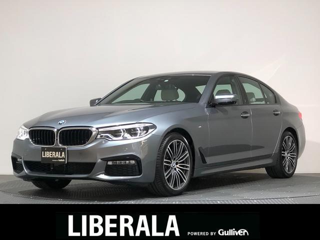 BMW 5シリーズ 523i Mスポーツ イノベーションPKG/インテリジェントセーフティ/レーンアシスト/ACC/BSM/HUD/純正ナビTV/360度ビューカメラ/ETC/白革/シートヒーター/パワートランク/オートライト/LEDライト