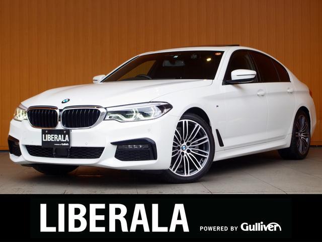 BMW 5シリーズ 523d Mスポーツ ワンオーナー/セレクトPKG/サンルーフ/harman/kardon/4ゾーンエアコン/イノベーションPKG/HUD/ジェスチャーコントロール/ワイヤレスチャージ/ナビ/TV/360度ビュー/衝突軽減