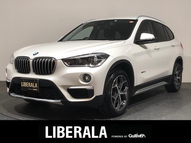BMW X1 xDrive 18d xライン 茶革/前後ドラレコ/ACC/HUD/パワートランク/純正ナビ/バックカメラ/シートヒーター/インテリジェントセーフティ/LED純正ミラー型ETC/純正18inAW/パワーシート/メモリーシート