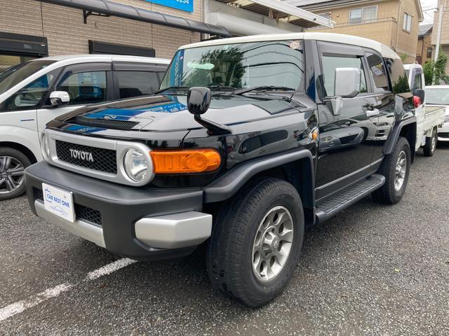 トヨタ FJクルーザー ベースグレード 純正ナビ/地デジ/バックカメラ