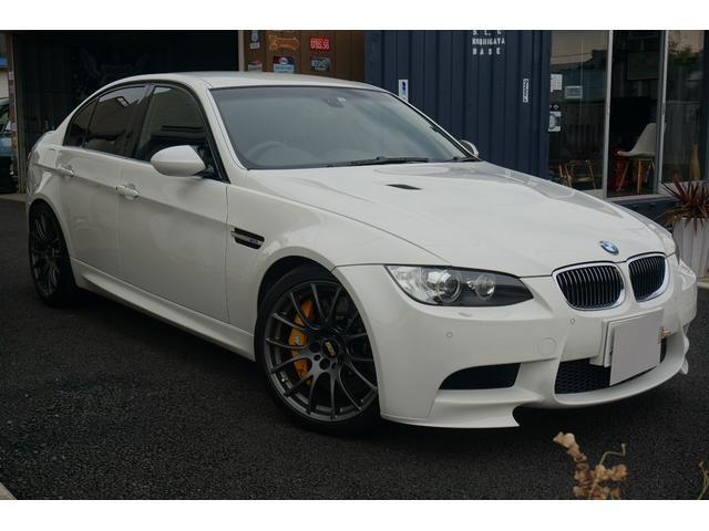 BMW M3 M3 Mドライブパッケージ BBS鍛造19インチアルミホイール フロント8POT リア4POTブレーキシステム フロントリップ リアスポイラー コンフォートアクセス バックカメラ