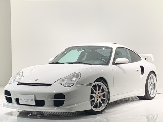 ポルシェ 911ターボ ターボ4WD ユーザー買取 ウィング 内装カーボン 社外AW サンルーフ 整備記録簿22枚 バックカメラ