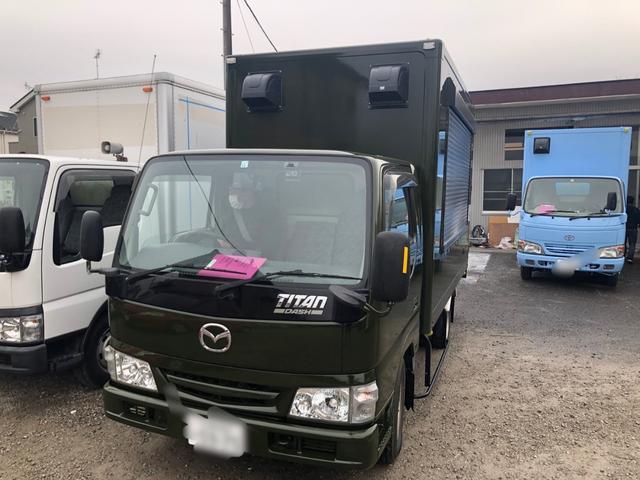 マツダ  ガソリン車 キッチンカー 移動販売車 フードトラック