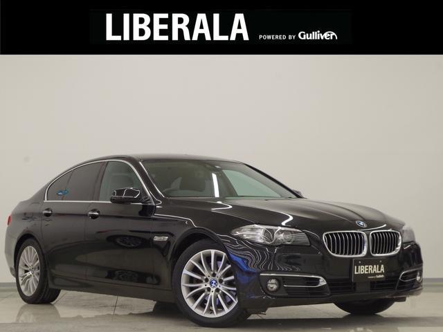 BMW 5シリーズ 523iラグジュアリー 純正ナビ フルセグTV Bカメラ ACC 黒革 ETC インテリジェントS Aライト コーナーセンサー コンフォートA  D/N席Pシート(D席メモリ機能付き)ミラー一体型ETC