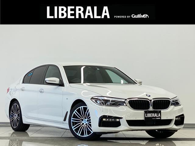 BMW 5シリーズ 523i Mスポーツ インテリジェンS 360° 黒革 Pバックドア 純正HDDナビ フルセグTV パワーシート シートヒーター メモリーシート  ETC LEDライト  パドルシフト Aホールド 純正19インチAW