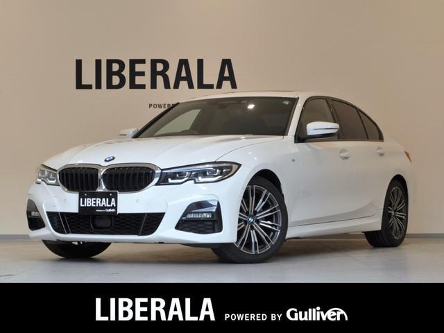 BMW 3シリーズ 320i Mスポーツ 1オーナー SR ACC HUD Pトランク LED ワイヤレス充電 純正HDDナビ タッチパネル Bカメラ シートH Pシート 前席&後席USB使用可 フットトランクオープナー 純正18インチAW