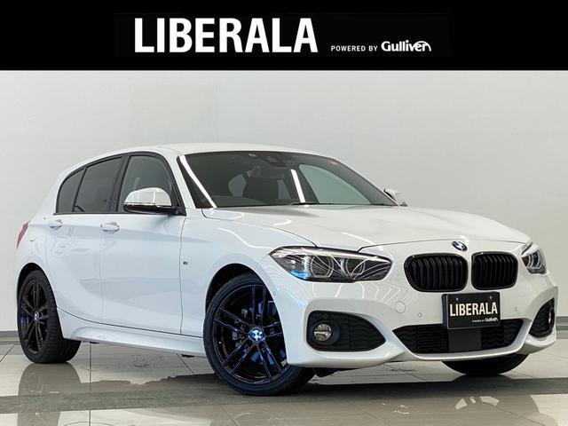 BMW 1シリーズ 118d Mスポーツ エディションシャドー 1オーナー ACC 黒革シート パワーシート LEDライト 純正18インチAW シートヒーター 純正HDDナビ Bカメラ 地デジTV コーナーセンサー LEDフォグ ドラレコ SOSコール ETC