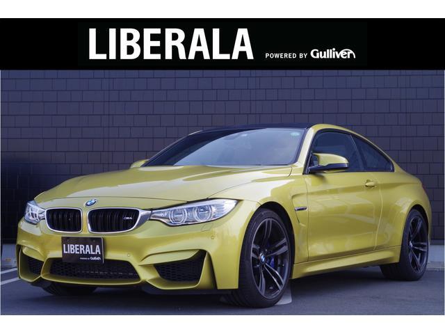 BMW M4クーペ ワンオーナー 黒革 ヘッドアップディスプレイ インテリジェントセーフティー クルーズコントロール 純正ナビ フルセグ バックカメラ LEDヘッドライト ETC 純正19インチAW