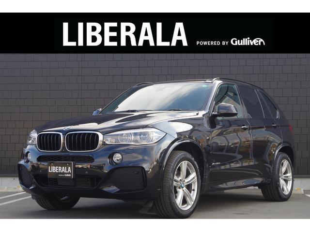 BMW X5 xDrive 35d Mスポーツ ワンオーナー セレクトパッケージ 7人乗り パノラマサンルーフ 革シート 後席モニター ACC ドライビングアシストプラス 純正ナビ フルセグ 360度カメラ ソフトクローズドドア パワーバックドア