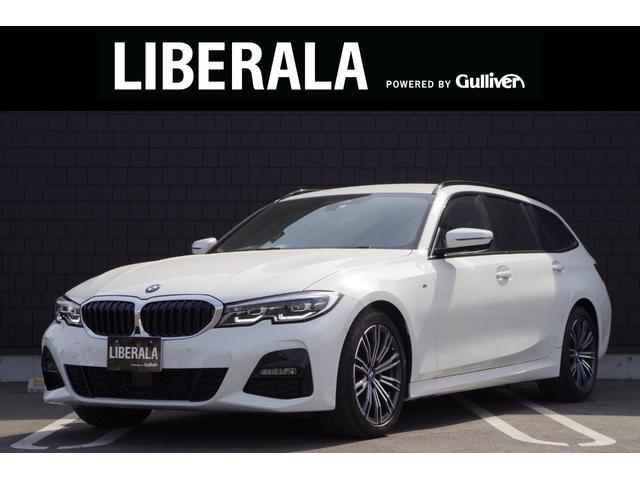 BMW 320d xDriveツーリング Mスポーツ アクティブクルーズコントロール ハンズオフアシスト トップビューモニター 純正ナビ Bluetooth接続 ハーフレザーシート シートヒーター パワーシート コンフォートアクセス ETC