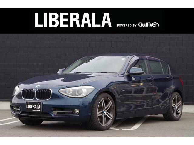 BMW 120i スポーツ コンフォートアクセス 純正ナビ バックカメラ フルセグTV パワーシート ETC オートライト 純正17インチアルミ