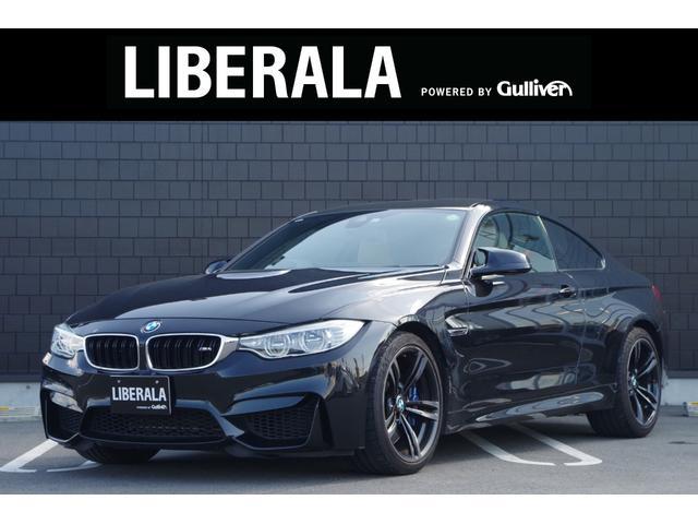 BMW M4 M4クーペ harman/kardon ベージュ革シート HUD インテリジェントセーフティー 純正ナビ フルセグ バックカメラ クルーズコントロール パワーシート OP19インチアルミホイール
