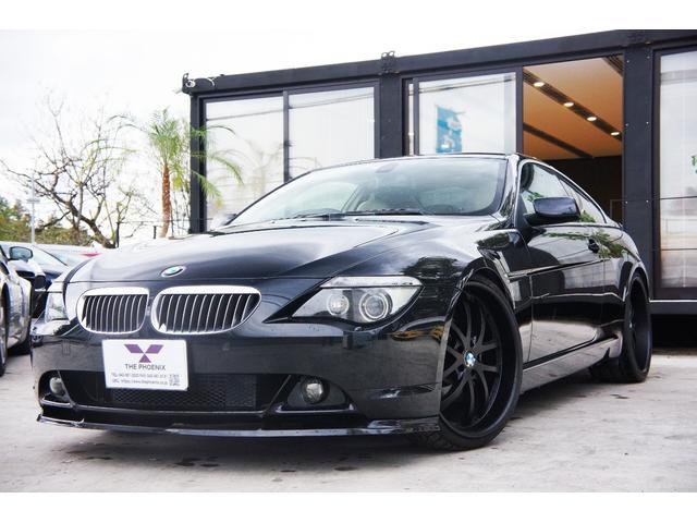BMW 650i ナビ/革/シートヒーター/22インチAW/Rスポイラー/車高調