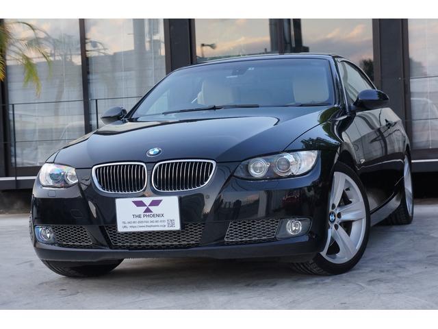 BMW 3シリーズ 335iカブリオレ ターボ/純正ナビ/フルセグTV/DVD/禁煙車/クルコン/ETC/障害物センサー