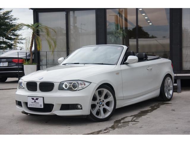 BMW 1シリーズ 120i カブリオレ Mスポーツパッケージ 純正ナビ ETC Bカメラ 18インチAW