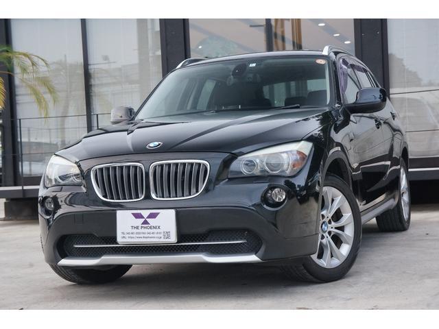 BMW X1 xDrive 25i ハイラインパッケージ 4WD/純正ナビ/シートヒーター/電動革シート/サンルーフ/ETC/純正アルミ
