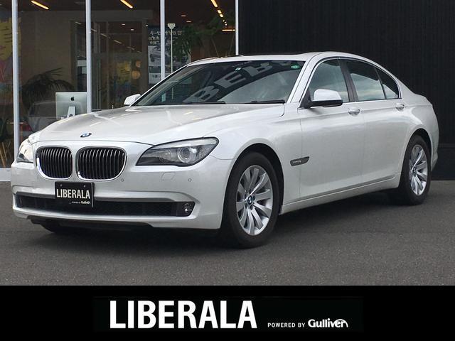 BMW 7シリーズ 740i プラスPKG サンルーフ バックカメラ 全席シートヒーター 前席エアシート レザーシート 純正HDDナビ( CD・Bluetooth・DVD・AUX ) 電動リアゲート 純正18インチアルミホイール