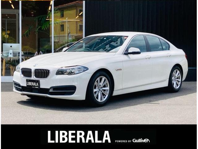 BMW 5シリーズ 523d 純正HDDナビ バックカメラ フルセグ ACC インテリジェントセーフティ レーンディパーチャーウォーニング コーナーセンサー パワーシート 純正17インチアルミ コンフォートアクセス スペアキー