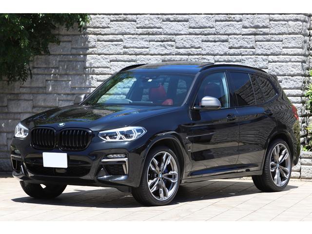 BMW X3 M40d セレクトPKG パノラマサンルーフ ブラック&レッドツートンレザー ハーマンカードン iDrive7.0 ライブコックピット
