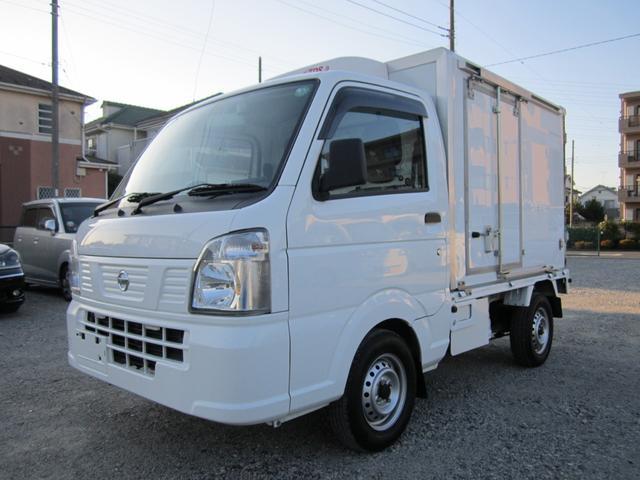 日産 NT100クリッパートラック  低温‐30℃設定 冷蔵冷凍車 走行27000kmナビ・バックカメラ・ドラレコ