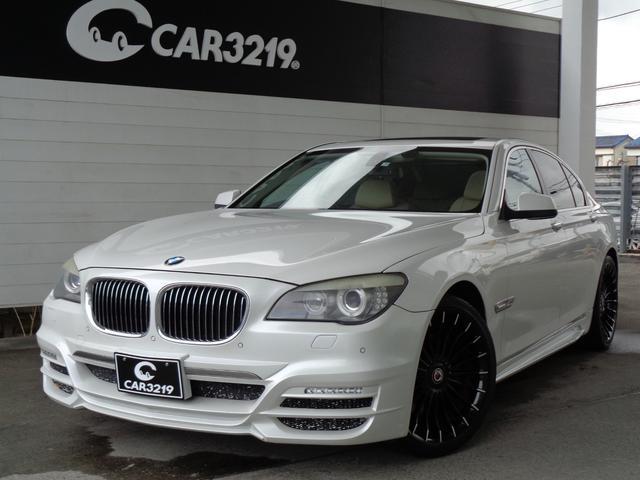 BMW 7シリーズ 740i WALDエアロ サンルーフ アルピナアルミ HDDナビ バックカメラ HIDライト ドライブセレクト クルコン ETC シートヒーター&シートクーラー スマートキー プッシュスタート