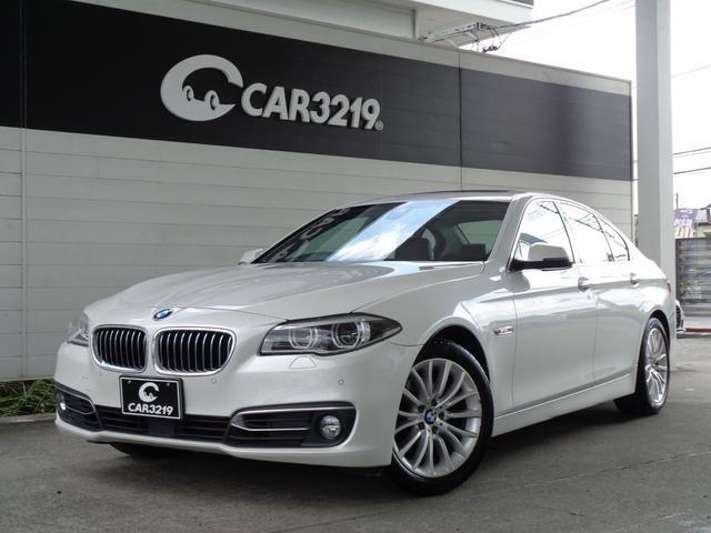 BMW 5シリーズ 528iラグジュアリー ACC LEDライト ソフトクローズドア レーンキープ パワーバックドア スマートバックドア サンルーフ HDDナビ 地デジ バックカメラ ETC ドラレコ 純正18AW