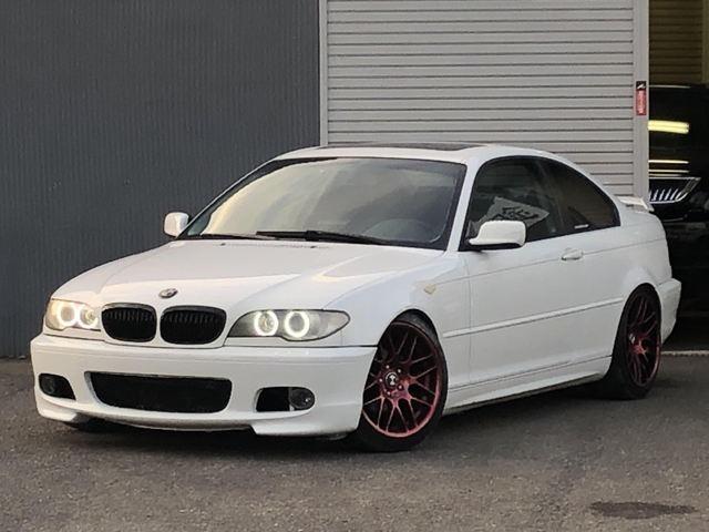 BMW 3シリーズ 318Ci 左ハンドル MT 車高調 レカロ バックカメラ