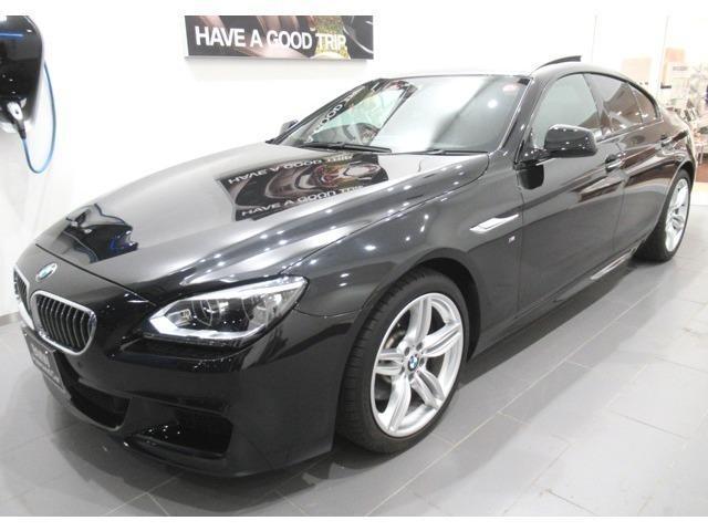 BMW 6シリーズ 640iグランクーペ ブラックレザー LEDライト サンルーフ