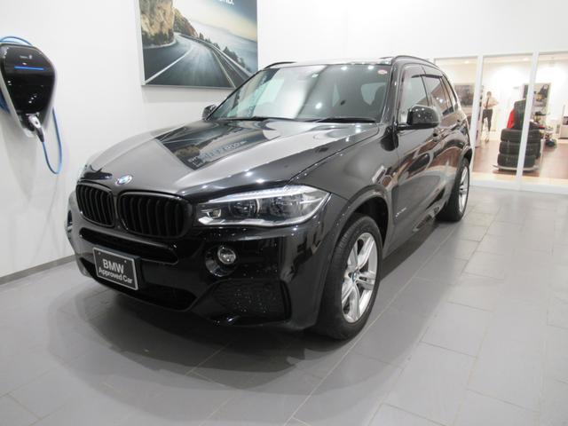 BMW X5 xDrive 35d Mスポーツ 7人乗り セレクトパッケージ パノラマガラスサンルーフ ブラックレザー シートヒーター 電動シート LEDライト ETC2.0 コンフォートアクセス オートトランク