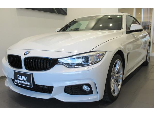 BMW 4シリーズ 420iクーペ Mスポーツ ガラスサンルーフ 純正カーボンリヤスポイラー ブラックグリル 屋根車庫保管 コンフォートアクセス 電動シート バックカメラ