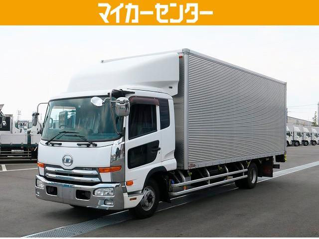 UDトラックス  平成23年式 UDトラックス コンドル 中型アルミバン コンビゲート付 6700ワイド