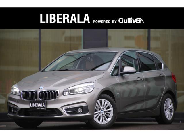 BMW 2シリーズ 218iアクティブツアラー ラグジュアリー 茶革・コンフォートアクセス・バックカメラ・CD/DVD・ドラレコ・ETC純正ナビ・LEDライト・電動リアゲート・インテリジェントセーフティ