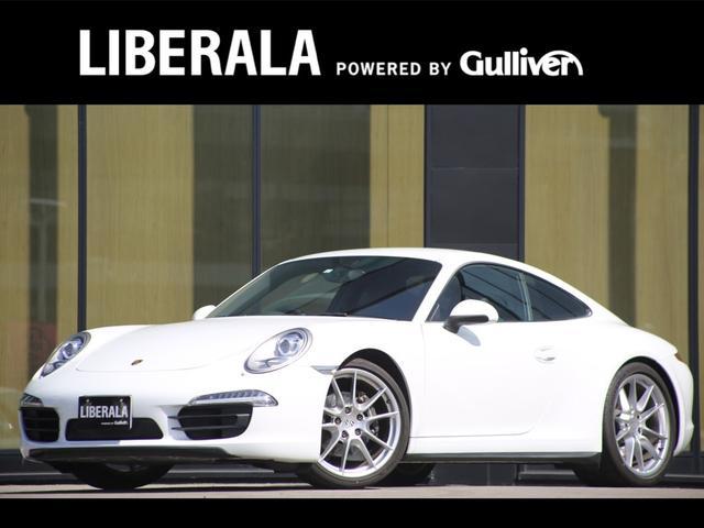 ポルシェ 911カレラ4 スポーツクロノパッケージスポーツエキゾーストシステムスポーツステアリングPASMPSM社外SDナビCDDVDBTフルセグシートヒーターパドルシフトバックカメラETC格納式リアスポイラー革シート