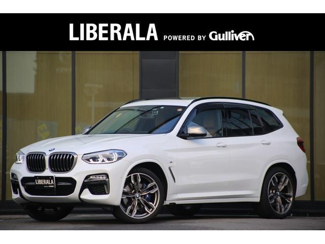 BMW X3 M40d セレクトPKG ACC 電動パノラマガラスSRタンレザー全席シートヒーターharman/kardon HUD LEDヘッドライト アンビエントライト インテリジェントセーフティ前後ドラレコ 360CA