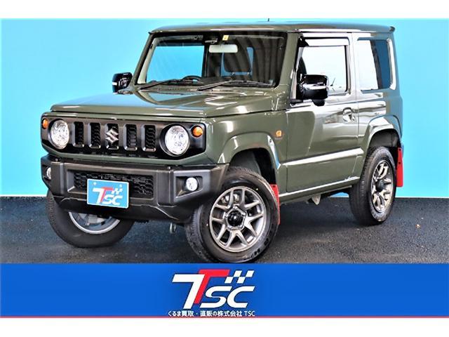 スズキ ジムニー XC ワンオーナー/5MT車/8インチメモリーナビ/バックカメラ/Bluetoothオーディオ/LEDヘッドライト/シートヒーター/オートライト/衝突軽減ブレーキ/クルーズコントロール/ダウンヒルアシスト/