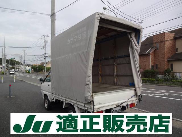 トヨタ シングルジャストローDX 幌付 800kg積み コラム5速