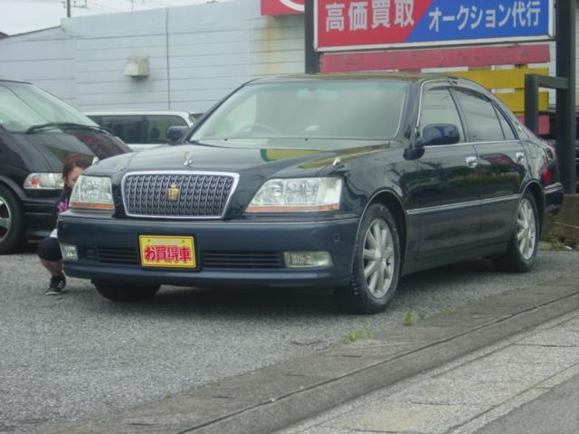 トヨタ 4.0Cタイプ ナビ ETC HID キーレス 16AW