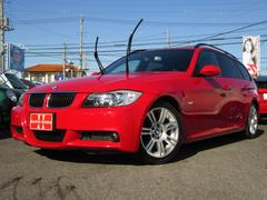 BMW320iツーリング HDDナビ HIDライト 正規ディーラー