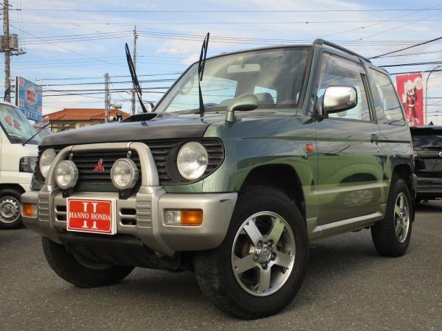 三菱 XR-II ターボ車 4WD 純正アルミ リアスポイラー フォグライト ルーフレール タイミングベルト交換済み サイドバイザー