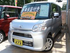 タントX SAIII 電動スライド 自動ブレーキ 届出済未使用車