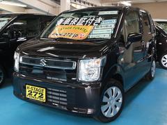 ワゴンRハイブリッドFX ブラック内装 届出済未使用車 新車保証付