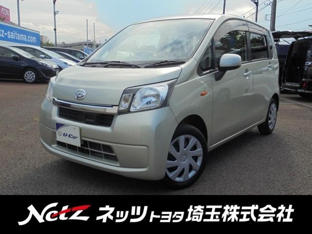 ダイハツ ムーヴ L SA 衝突軽減ブレーキ 純正CDデッキ (...