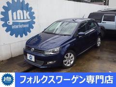 VW ポロTSIハイライン 禁煙 1オーナ HID 新車記録簿鑑定証付