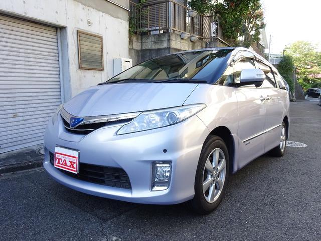 トヨタ X 純正HDDナビ地デジ 後席モニター ワンオーナー車
