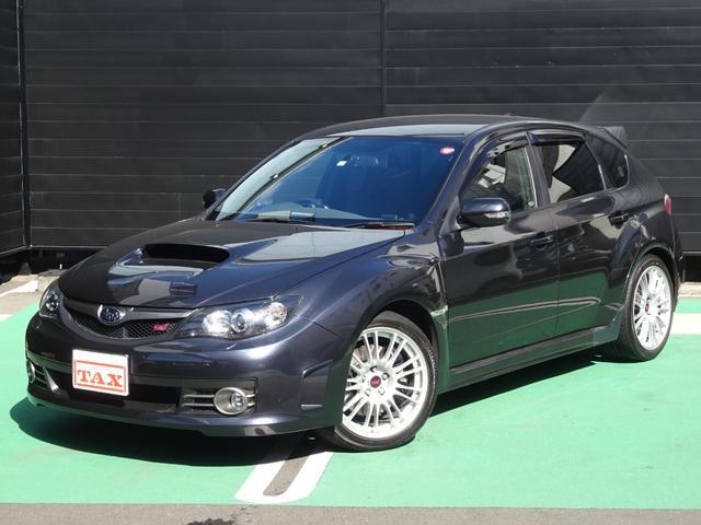 スバル WRX STI Aライン 外マフラー 本革シート 1オーナー