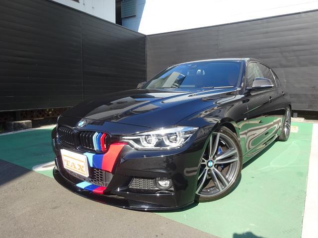 BMW 320i Mスポーツ ワンオーナー 禁煙車 Mパフォーマンスフロントスポイラー トランクスポイラー REMUSスポーツマフラー KW足回ローダウン