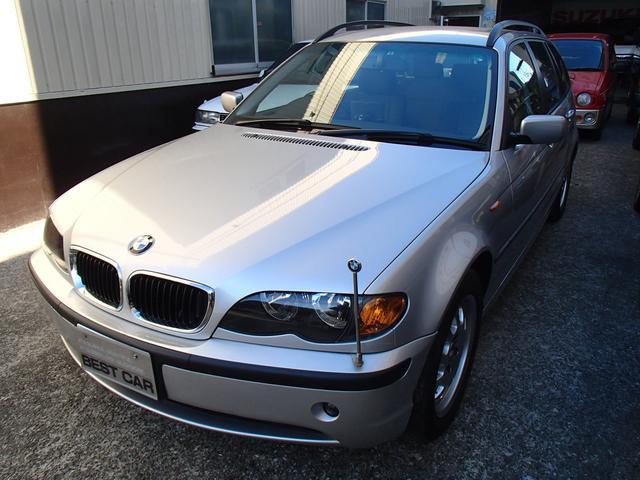 BMW 318iツーリング 社外ナビ ETC 純正アルミ